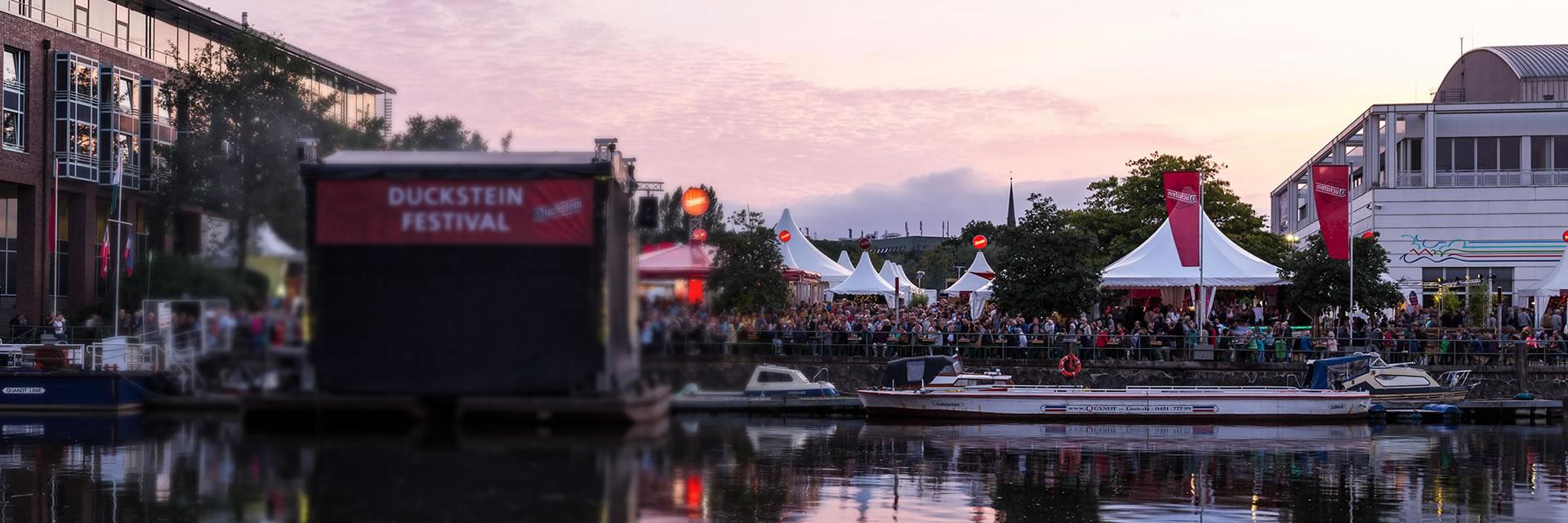 Duckstein Festival in Lübeck